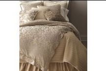 Jackie Champagne-Silver Jacquard / The Jackie Champagne-Silver Jacquard bedding collection from Lili Alessandra's 2015 catalogue