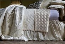 Chloe Ivory Velvet / The Chloe Ivory Velvet coverlets and bedspreads collection from Lili Alessandra's 2015 catalogue