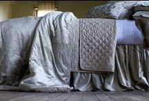 Chloe Fawn Velvet / The Chloe Fawn Velvet coverlets and bedspreads collection from Lili Alessandra's 2015 catalogue