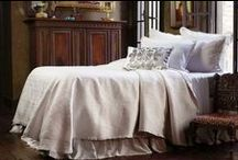 Battersea Quilted in Ivory / The Battersea Quilted in Ivory coverlets and bedspreads collection from Lili Alessandra's 2015 catalogue