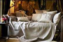 Battersea Quilted in Taupe / The Battersea Quilted in Taupe coverlets and bedspreads collection from Lili Alessandra's 2015 catalogue