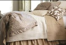 Silk & Sensibility Ivory / Ecru / The Silk & Sensibility Ivory / Ecru coverlets and bedspreads collection from Lili Alessandra's 2015 catalogue