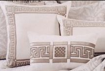 Dimitri Decorative Pillows / The Dimitri collection of decorative pillows from Lili Alessandra's 2015 catalogue.