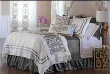Soho White with Silver Bedding / The Lili Alessandra Soho White with Silver Bedding Collection from the 2016 catalogue.