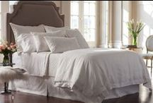 Casablanca White with White Bedding / The Lili Alessandra Casablanca White with White Bedding Collection from the 2016 catalogue
