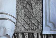 Chloe Ice Silver Velvet / The Lili Alessandra Chloe Ice Silver Velvet bedding collection from the 2016 catalogue.