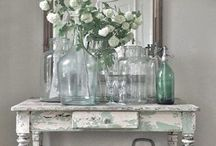 Shabby chic and French design