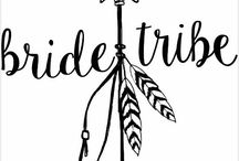 Bride Tribe stuff ❤️ / For my BRIDE TRIBE   Hens night ideas & plans  Brides maids attire & ideas Any other bridal party ideas