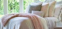 Guy Collection Blush Bedding / Geometric, Textured, Clean Bedding. Blush, the color for luxurious bedding.