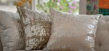 Moderne Decor Pillows / Moderne Velvet Decorative Pillows (22x22) is made with Velvet and Platinum Foil, pillow insert is included.