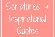 Scriptures / Inspirational Quotes / Bible verses, Scripture, Inspirational quotes, Motivational Quotes, Christian Quotes to help you in your walk with Christ