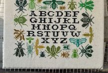 Cross stitch og HAMA / by Mette Krogh