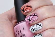 WLW's Nail Art / Whatever Lola Wants' (Gaila's) Mani - Pedi Nail Art Stamping / by Gaila Spreen