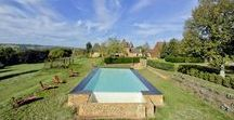 Swimming pools / Beautiful swimming pools from the Pure France portfolio of rental homes, villas and châteaux. All available to book for your self-catering holiday in France.