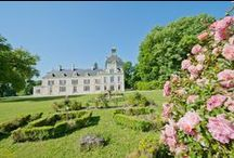French country gardens / A selection of beautiful gardens in high quality French holiday rental homes, villas and châteaux.