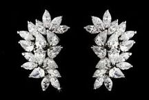CZ Earrings for Brides and Bridesmaids