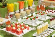 Tasty Treats and Sweets for the  Bridal Shower / Gorgeous Desserts and Appetizers for Bridal Showers