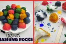 DIY Kids / Fun kids crafts to get kids learning by interactive, fun play - not to mention keep them occupied on rainy days!