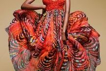 Twirly Whirly - Africana / For the little girl in me who is still twirling in her beautiful skirt.