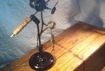 upcycle repurpose steampunk lamps / repurposed stuff