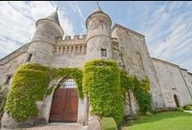 French Chateaux | Castles in France / Large French castles and country homes (chateaux) which are available for self-catering holiday rental from Pure France. Locations throughout France.