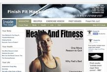 FINISH FIT MAGAZINE® / Sign up for Finish Fit Magazine@ to stay at the forefront of health and fitness news and information.