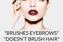 Chella Beauty - Just Sayin' / 'Cuz we're all about the brows! www.chella.com