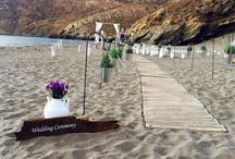 My fairytale greek wedding! / Beach wedding - Mani Greece