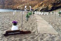 My fairytale greek wedding! / Beach wedding - Mani Greece