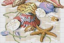 PUNTO DE CRUZ / Todo tipo de patrones para llevar a cabo en no mucho tiempo