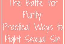 Battle for Purity: Practical Ways to Fight Sexual Sin / The Battle for Purity: 3 Practical Ways to Fight Sexual Sin - Check it out at http://bit.ly/2qqr3Xd  Sexual Purity | Sexual Sin | Battle for Purity | Purity | Sex | God's Design for Sex | Christian Singleness | Christian Single Woman |