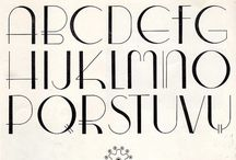 Fonts and Type / Fonts and Type / by Art, Love and Joy