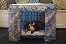 Dog Crate Cover/Dog Beds - Bowhausnyc