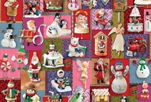 Christmas - Puzzles / I have been collecting jigsaw puzzles and putting this darlings together for years.  I have either own these or want them. / by Susie Damm Wier Zanco
