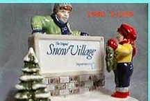 Christmas - Snow Village / Dept 56 Original Snow Village --- want or have. / by Susie Damm Wier Zanco