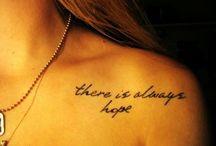 Tattoos! / by Layni Trosclair