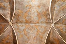 Faux Finishes / Hand painted wall designs for Unusual Design.