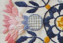 Textiles / Embroidery, stitching
