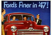 Vintage Ford Ads / Ford Advertisements from the past.