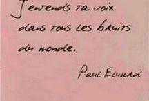 Paul Eluard / La poésie, l'amour