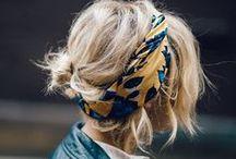 hair / floaty wavy coloured inspo
