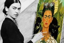 "Frida Kahlo / ""I paint flowers so they will not die."" ~Frida Kahlo"