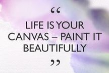 Beauty Quotes / Beauty inspiration you can really live by.