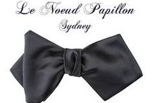 The Best Bow Ties In The World And Luxury Menswear / Le Noeud Papillon makes bow ties, ties and bespoke shirts in Sydney, Australia whilst also writing the blog www.lenoeudpapillon.blogspot.com