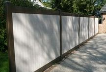 Vinyl Fence / Maintenance free vinyl fence is available in many options from picket to privacy.  Many color choices and possibilities with wood colors/grain.