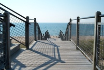 Custom Work / We can custom any fence, railing or gate.  We excel at challenging and unique projects!