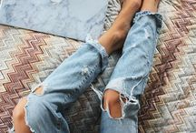 Dylan / Coastal lifestyle. Dogs, ripped jeans, Denim!, summer, sun, sea, cold wine, blond hair.