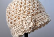 Crochet - Hats / Hats to crochet. Many different patterns / by Andrea Kapera
