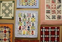 Vintage and miniature quilts