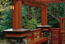 Craftsman / Arts and Crafts, Craftsman and Mission Style homes and decor.   / by KC Martin